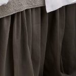 Traditions Linens Bedding Tuscany Stone Dust Ruffle
