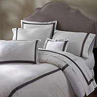Serena sheeting features a lovely thread count Italian cotton fabric.