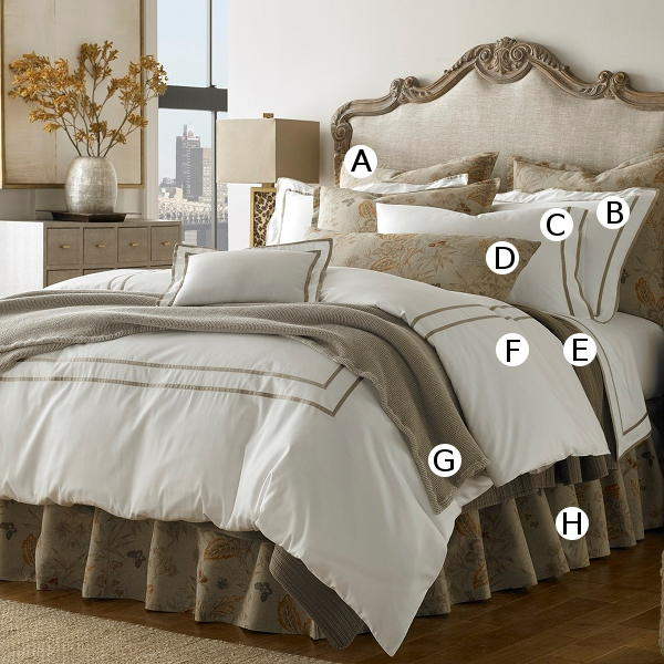 Traditions Linens Bedding Shangri-La Collection