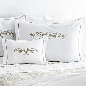 Traditions Linens Bedding Teara Flanged Sham