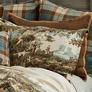 Traditions Linens Bedding Travis Flanged Sham