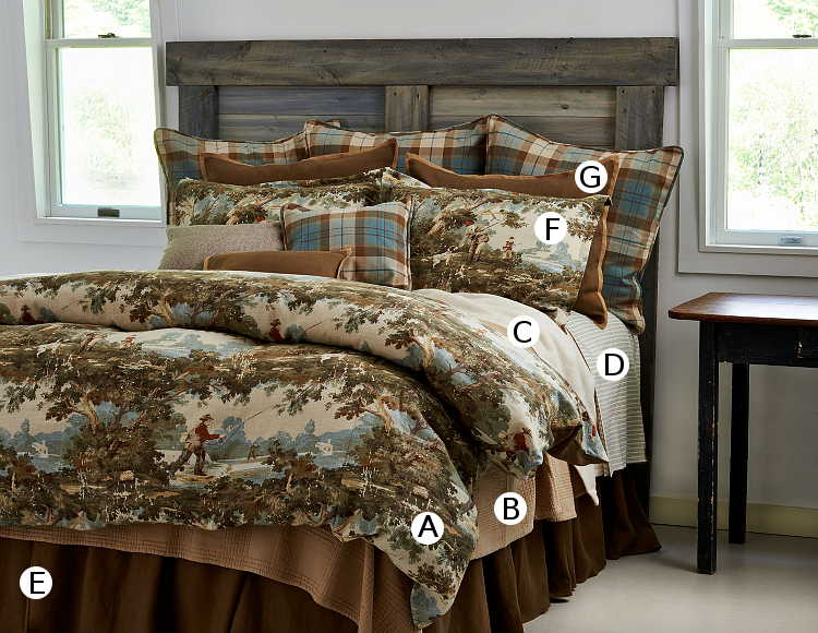 Traditions Linens Bedding Travis Collection