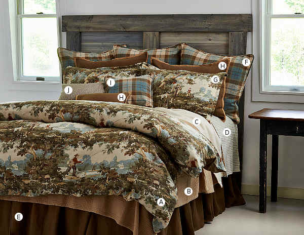 Traditions Linens Travis Bedding Collection