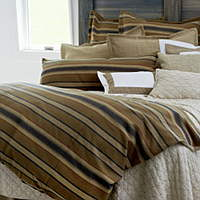 Sophisticated mountain adventures deserve fantastic linens and in Traditions Linens's dream cabin this is exactly what we�d find.
