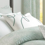 Wildcat Territory Snowflake Ribbon Decorative Pillow