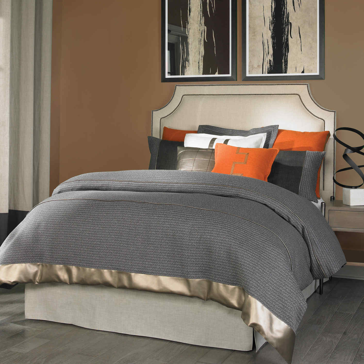 Wildcat Territory Bedding - Eli Collection Swatch