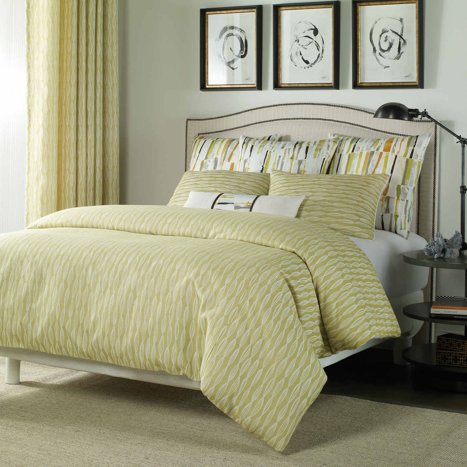 Wildcat Territory Bedding - Jane Collection Swatch