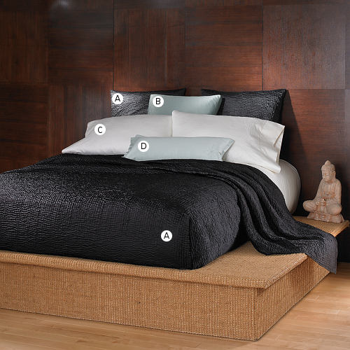Wildcat Territory Bedding Shanti Black Collection