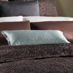 Wildcat Territory Shantung with Split Corner Flange & Starburst Pintuck Decorative Pillow