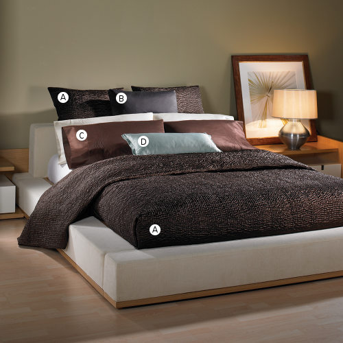 Wildcat Territory Bedding Shanti Chocolate Collection