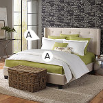 Wildcat Territory Bedding Skyler Duvet & Sham Simple Set