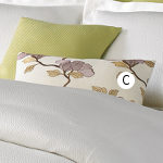 Wildcat Territory 12x20 Lotus Embroidery Decorative Pillow