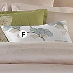 Wildcat Territory 12x20 Heather Lotus Embroidery Decorative Pillow