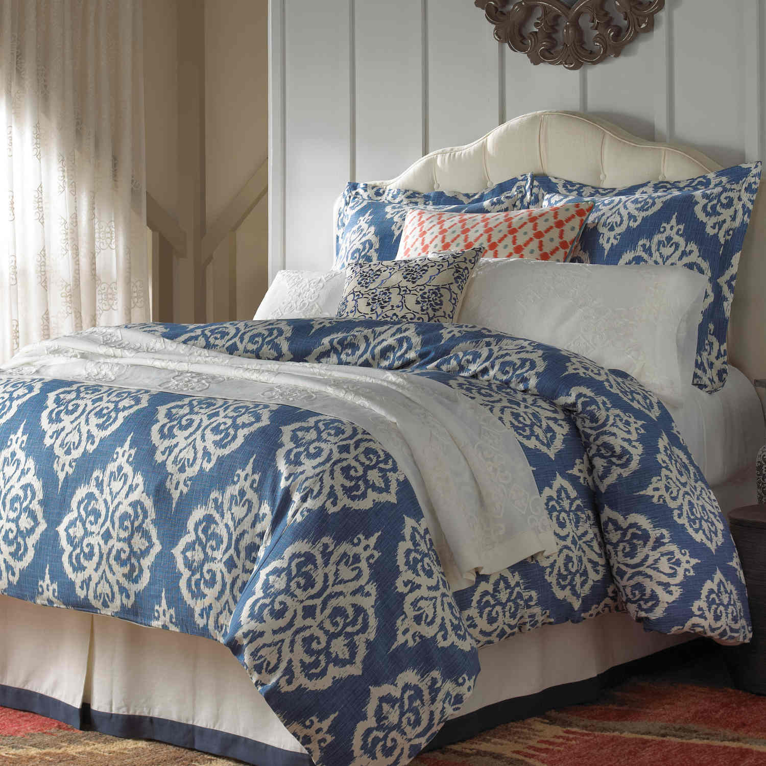 Wildcat Territory Bedding - Yasmine Collection Swatch