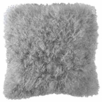 Zoeppritz Explode Throw and Pillow - Lamb Fur