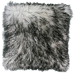 Zoeppritz Explosion Throw & Pillow - Tibet Lamb Fur.