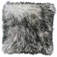 Zoeppritz Explosion Throw & Pillow - Tibet Lamb Fur.