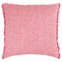 Lofty, soft, high quality decorative throw and decorative pillow made with Zoeppritz quality standards.