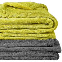 Everyone's favorite! Ultra soft, solid color blanket or throw.