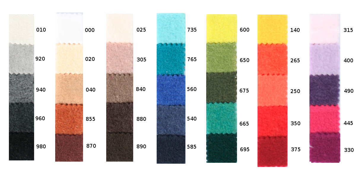 Zoeppritz Soft Fleece Swatch Set