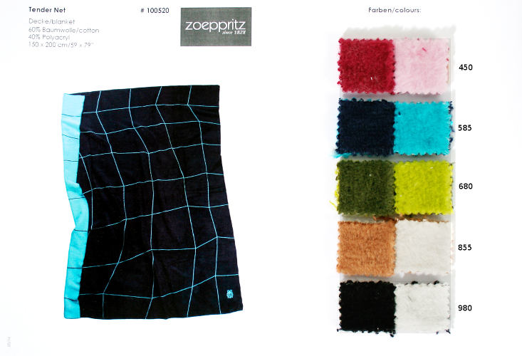 Zoeppritz Tender Net Cotton/Wool Wool Blanket.